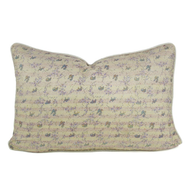 Bengal Silk Ivory Pillow - Image 1 of 3