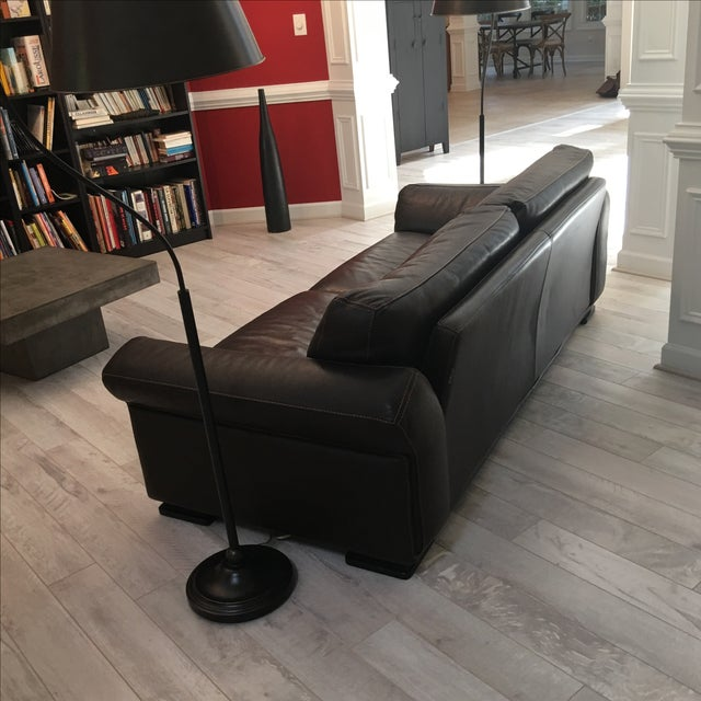 Roche Bobois Leather Sofa - Image 5 of 5