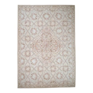 """Pasargad Aubusson Hand-Woven Wool Rug - 10' 1"""" x 14' 3"""""""