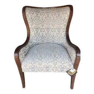 Fairfield Downey Wingback Chair For Sale