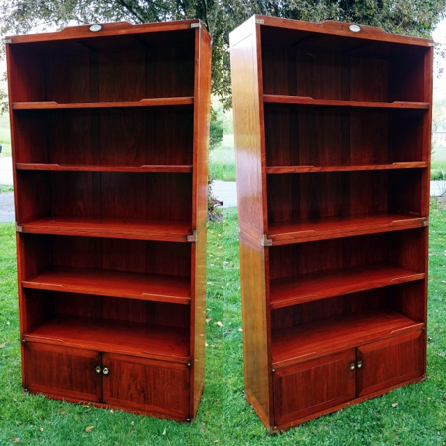 Starbay Rosewood Marco Polo Bookshelf Bookshelves - a Pair For Sale - Image 12 of 12