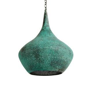 Copper Rain Drop Lantern Small For Sale