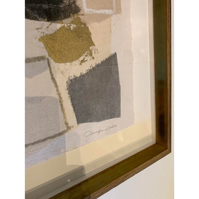 Abstract 'Graphite Unravel No.4' by Jennifer Gibbs For Sale - Image 3 of 5
