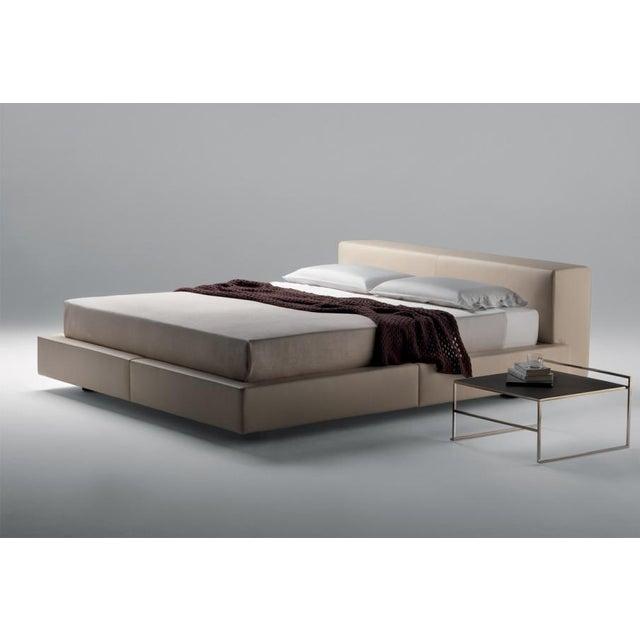 Modern Poltrona Frau Sera Double Bedframe For Sale - Image 3 of 4