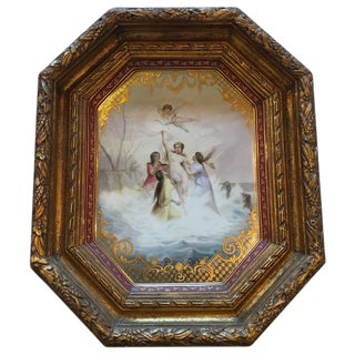 """Triumph der Venus"" Royal Vienna Platter For Sale"