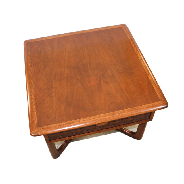 Mid-Century Lane Perception X-Base End Table - Image 5 of 10