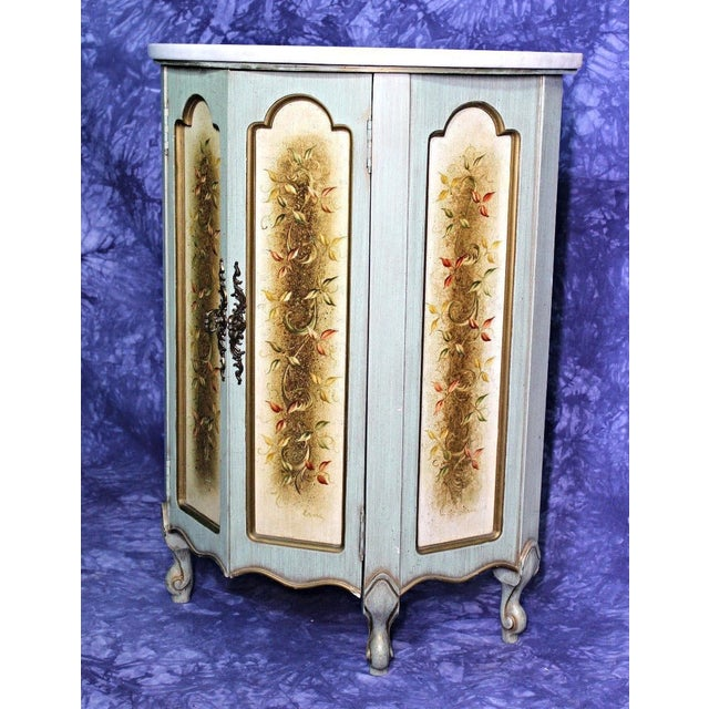 Portuguese Marble Top Cabinet For Sale - Image 12 of 12