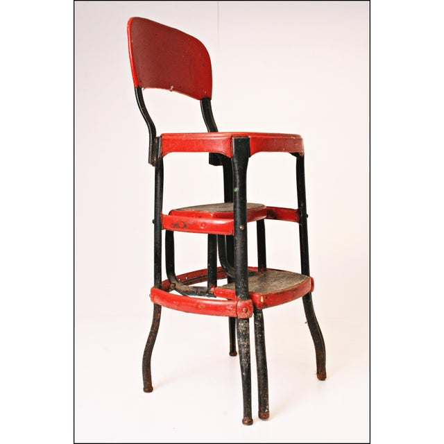 Mid-Century Metal Step Stool - Image 6 of 11