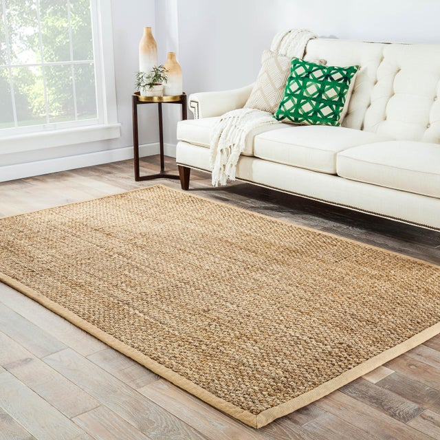 2010s Jaipur Living Adesina Natural Beige Area Rug - 4′ × 6′ For Sale - Image 5 of 6