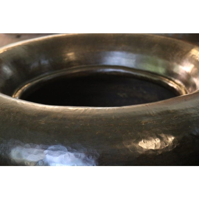 Asian Brass Water Pot For Sale - Image 3 of 5