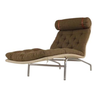 Mid Century Danish Modern Arne Vodder Erik Jorgensen All Original Chaise For Sale