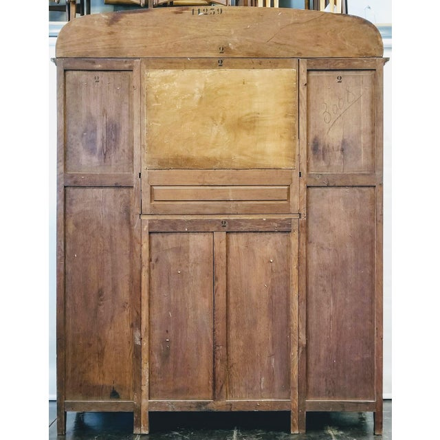 1900s Art Nouveau Gauthier-Poinsignon Ecole Nancy Main Buffet/Sideboard For Sale - Image 4 of 13