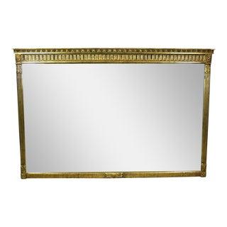 Elegant Hollywood Regency Gilded Mirror