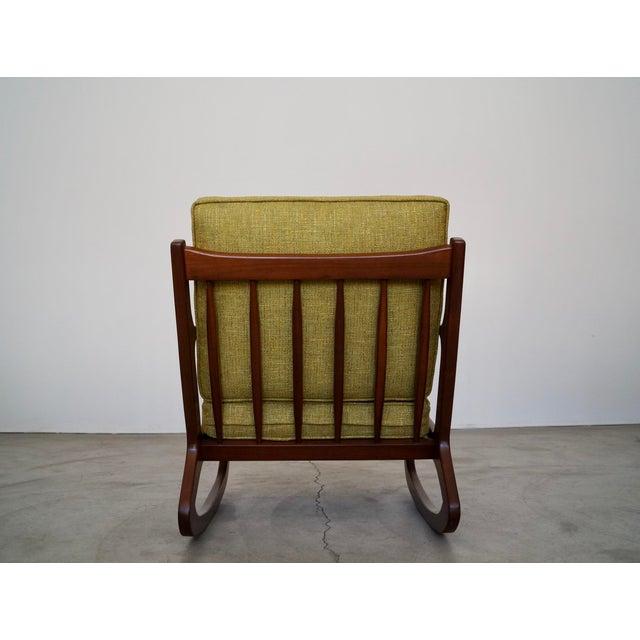 Danish Modern Ib Kofod Larsen Rocking Chair For Sale In Los Angeles - Image 6 of 13
