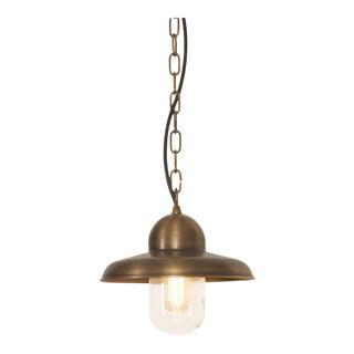 Somerton Brass Chain Lantern