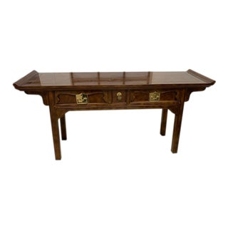 Henredon Ming Console Table For Sale