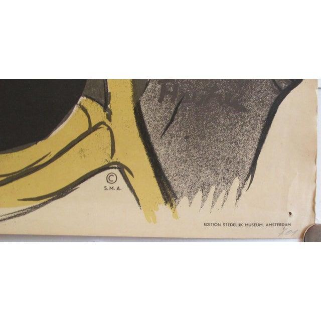 Art Nouveau 1960s Toulouse Lautrec Poster, Divan Japonais For Sale - Image 3 of 4