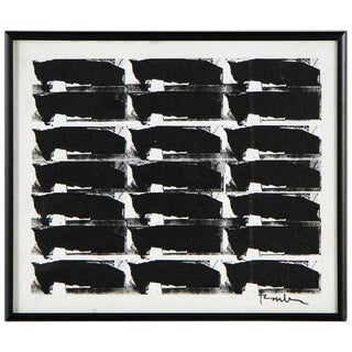 Black and White Series No. 3, 2009, Collage by George Dunbar For Sale