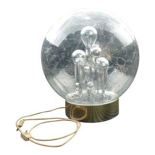 1960s Vintage German Space Age Globe Sputnik Table Lamp