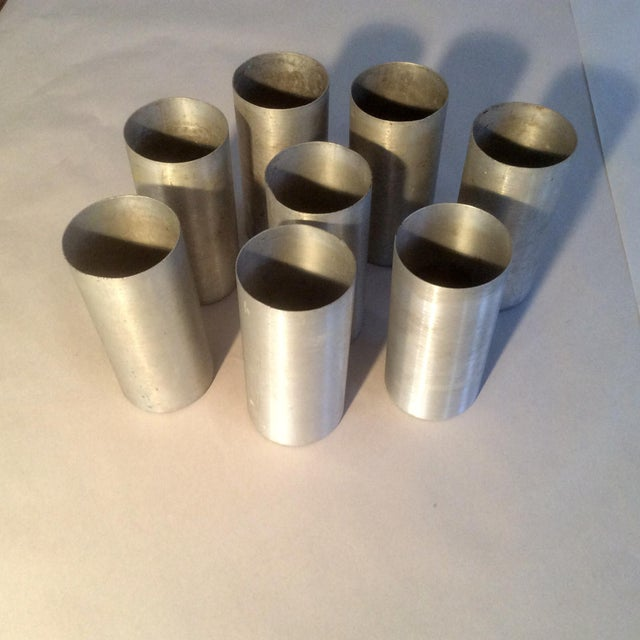Russel Wright Spun Aluminum Serving Pieces - Set of 18 For Sale - Image 10 of 11
