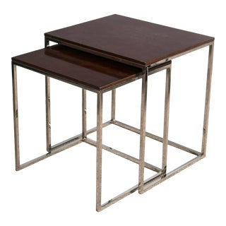 "Ralph Lauren ""Brook Street"" Nesting Tables - A Pair"