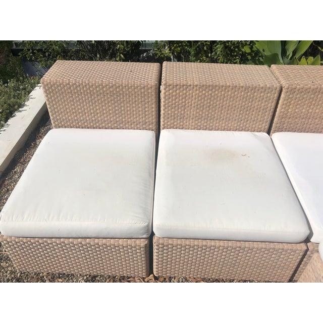 Janus Et Cie Dedon Sectional Sofa For Sale - Image 4 of 13