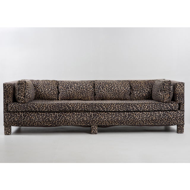 Hollywood Regency Mid-Century Billy Baldwin Sofa For Sale - Image 3 of 13