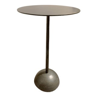 Metal Side Table by Four Hands For Sale