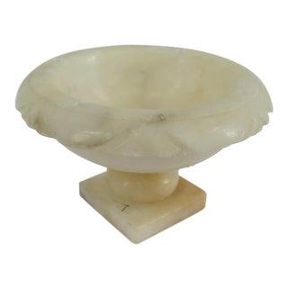 Vintage Italian Marble Trinket Dish For Sale