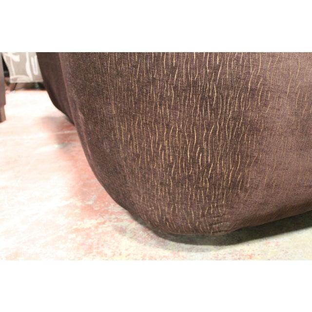 Textile Vintage Irwin Lambeth Asymmetrical Cloud Sofa For Sale - Image 7 of 13