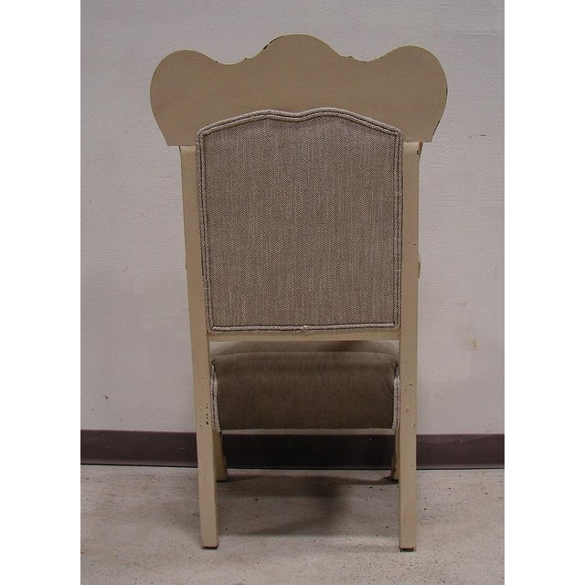 Vintage Antique Victorian Upholstered Chair - Image 4 of 5