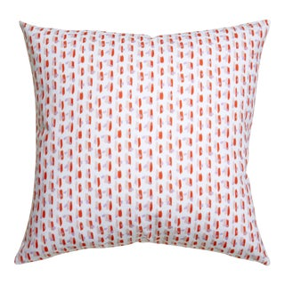 Pepper Poppy in Pink Pillow For Sale