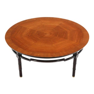 Vintage Mid Century Round Coffee Table For Sale