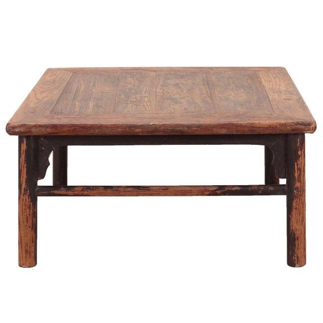 Vintage Sarreid LTD 1950s Elm Coffee Table - Image 2 of 3