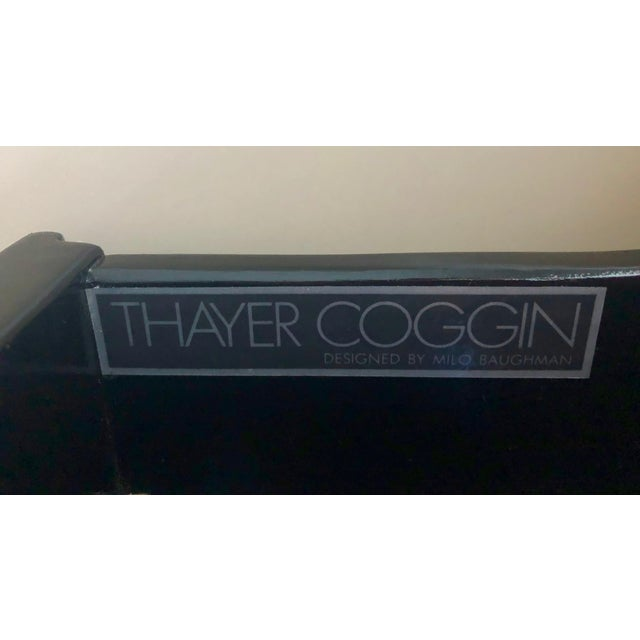 1970s Minimalist Milo Baughman for Thayer Coggin Lacquered Buffet/Sideboard For Sale - Image 11 of 13