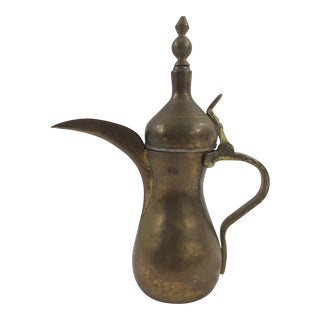 Moroccan Brass Tea Pot For Sale