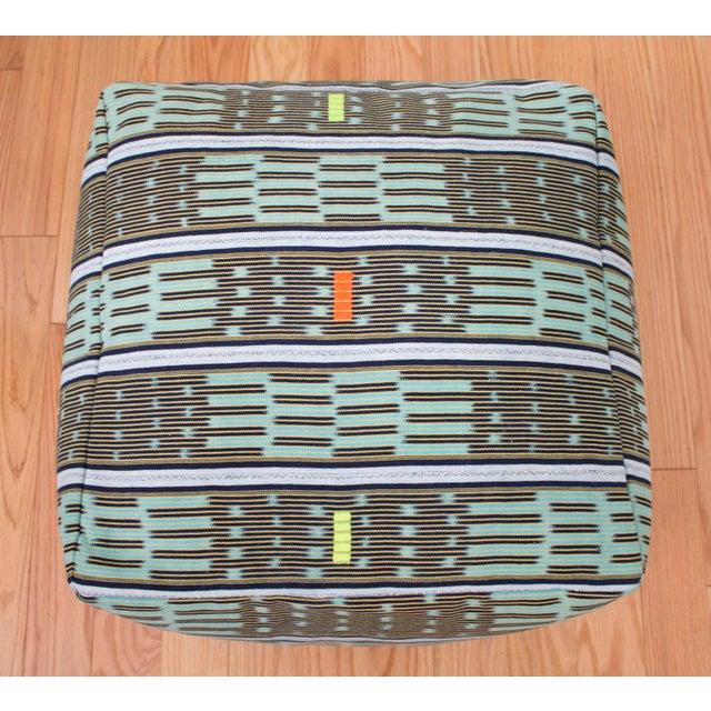 Vintage African Baule Cloth Pouf For Sale In San Francisco - Image 6 of 8