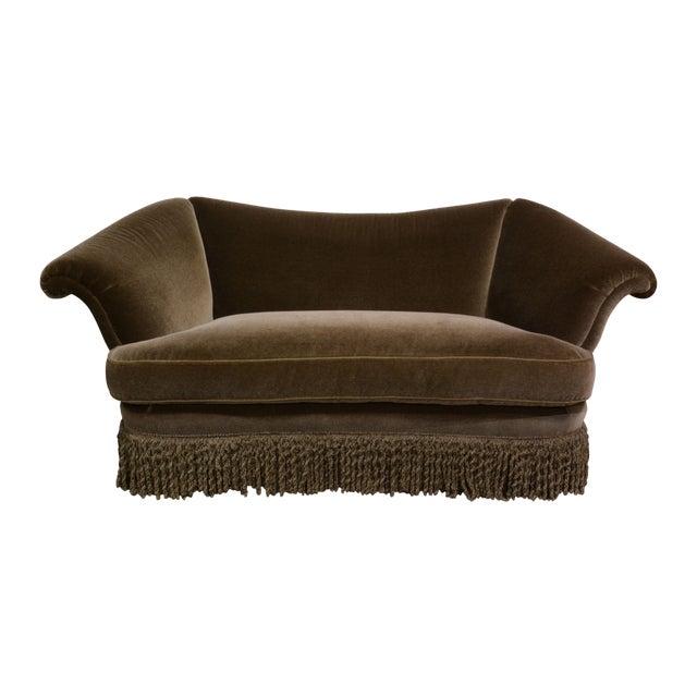 JJ Customs Diva Sofa in Mohair Velvet - Image 1 of 6