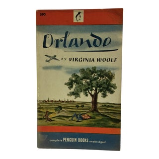 1946 Orlando by Virginia Woolf 1st Edition Book For Sale