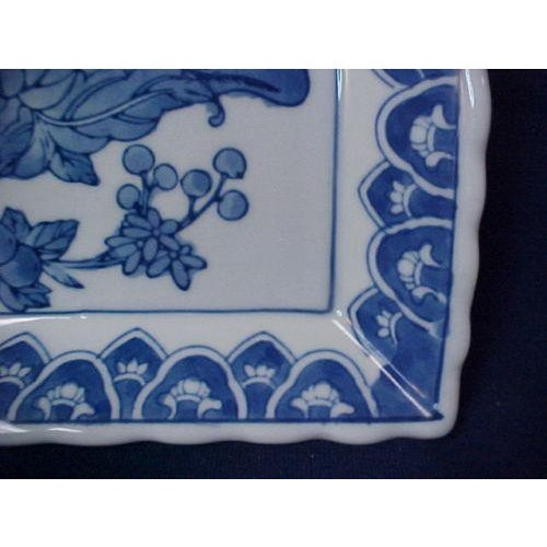 Chinese Rectangular Serving Tray For Sale - Image 4 of 5