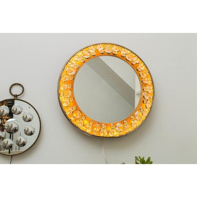 1960s Palwa Illuminated Mirror For Sale - Image 9 of 10