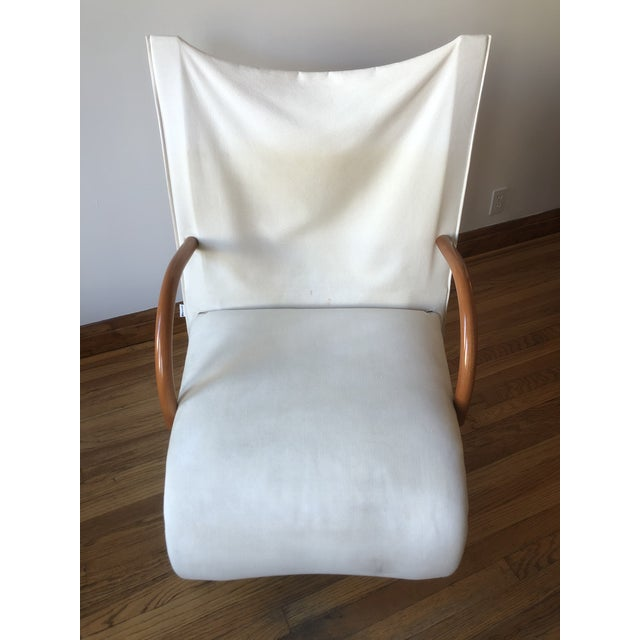 Modern Sculptural Zen Chair and Ottoman by Ligne Roset For Sale - Image 3 of 9