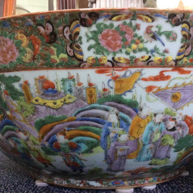 Chinese Export Punch Bowl For Sale - Image 5 of 9