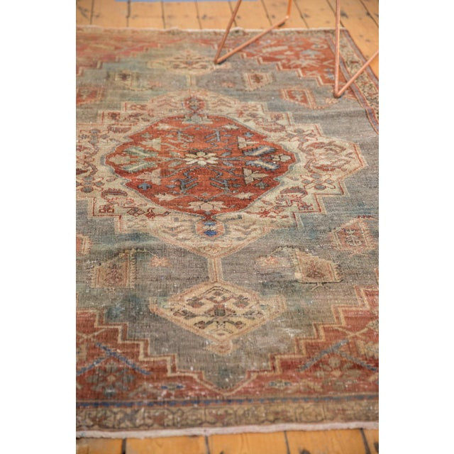 """1940s Vintage Distressed Northwest Persian Rug - 4'3"""" X 6'3"""" For Sale - Image 5 of 13"""