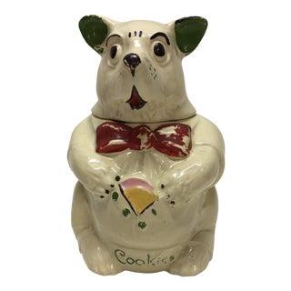 Vintage Bear Cookie Jar For Sale
