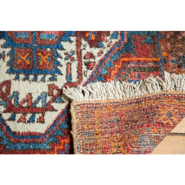 """Vintage Afshar Rug- 3'7"""" x 4'10"""" - Image 10 of 10"""