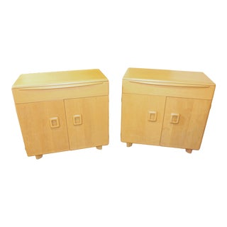 Mid 20th Century Heywood Wakefield Buffet Cabinets-a Pair For Sale
