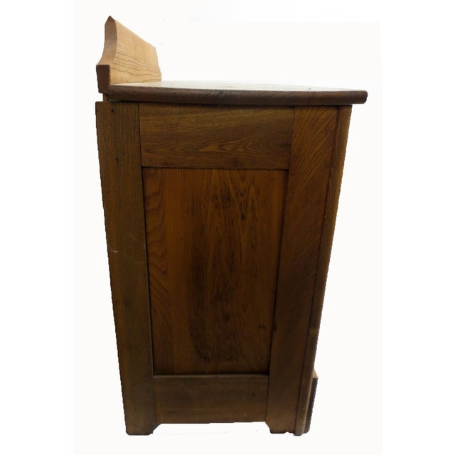 Oak Commode Cabinet - Image 4 of 8