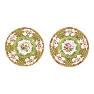 Late 20th Century Vintage Decorative Plates - Pair For Sale