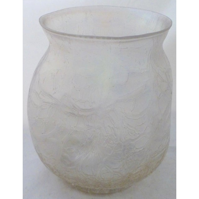 Antique Iridescent Loetz Glass Vase Chairish